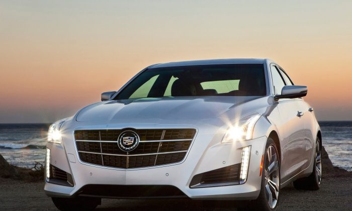 2014 Cadillac CTS (Courtesy of NetCarShow.com)