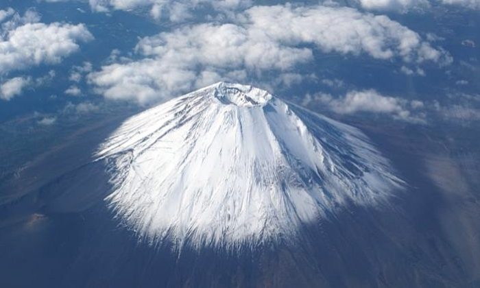 Mount Fuji as seen from space in this file photo. (NASA/John McGrath)