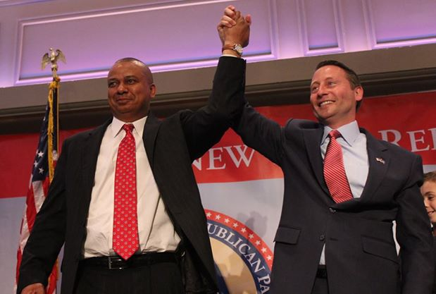 Rob Astorino (R) and Chris Moss were nominated unanimously to run for governor and lieutenant governor at the Republican State Convention in May. (Courtesy of Astorino for Governor)