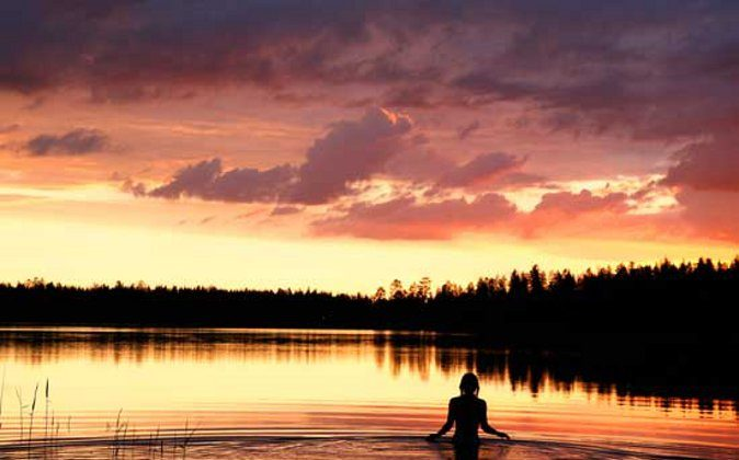 During the summer, the sun barely sets in Finland. Photo courtesy Visit Finland. (Go World Travel Magazine)