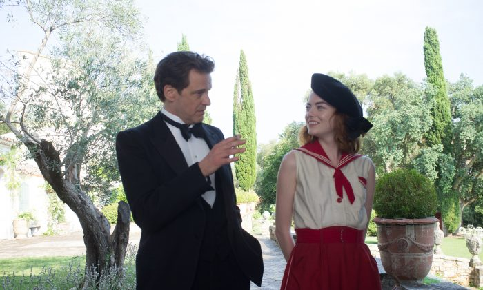 """Colin Firth and Emma Stone in """"Magic in the Moonlight."""" (Sony Pictures Classics)"""