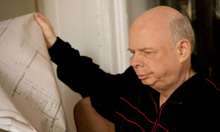 """Wallace Shawn as Halvard Solness in """"A Master Builder,"""" directed by Jonathan Demme, created for the stage by André Gregory. (Declan Quinn/Courtesy of Abramorama)"""