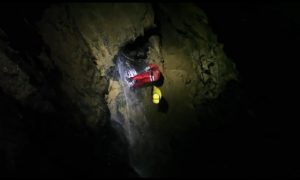 Explorations of One of the Deepest Caves in the World (Video)