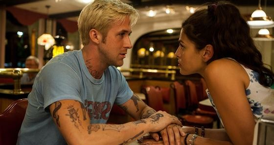 Ryan Gosling and Eva Mendes in The Place Beyond the Pines.