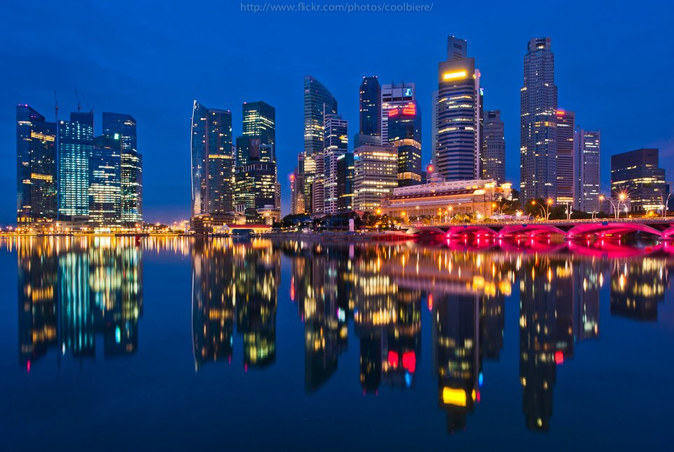 Still river reflection in Hong Kong (CoolBeiRe)