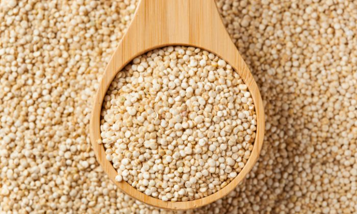 Raw organic quinoa seeds. (Thinkstock)