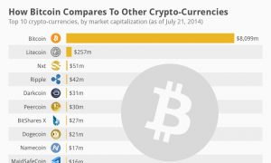 How Bitcoin Compares to Other Crypto-Currencies (Infographics)