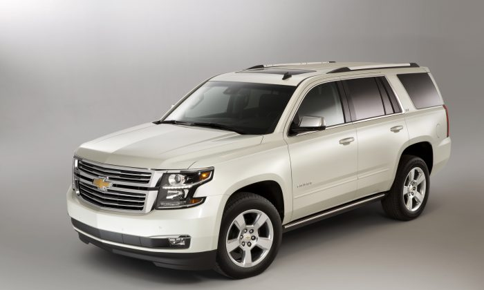 2015 Chevrolet Tahoe (Courtesy of General Motors/Chevrolet)
