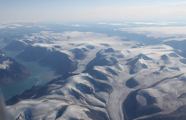 Enjoy an aerial view of Baffin Island. (Scott Bradley, Go Nomad)
