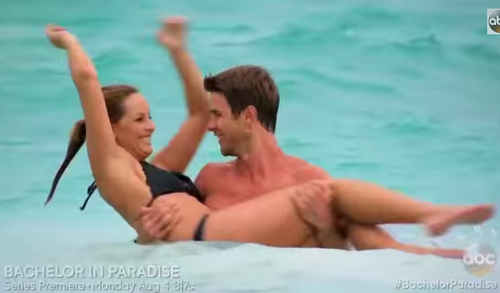One of the many scenes shown in the new Bachelor in Paradise extended preview. (ABC)