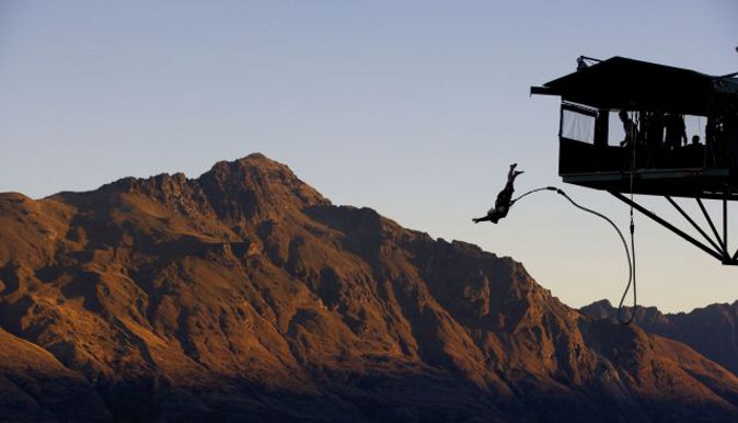 Bungy Jumping in New Zealand (MyDestination.com)