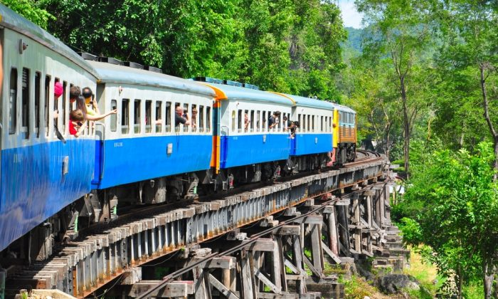 Train in Thailand. (*Shutterstock)