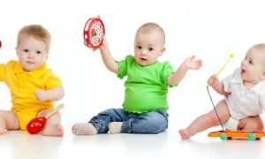 Developmental Music Therapy Class for Babies Creates Good Vibes