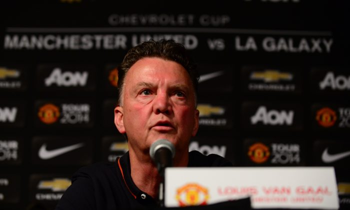 Louis Van Gaal  (FREDERIC J. BROWN/AFP/Getty Images)