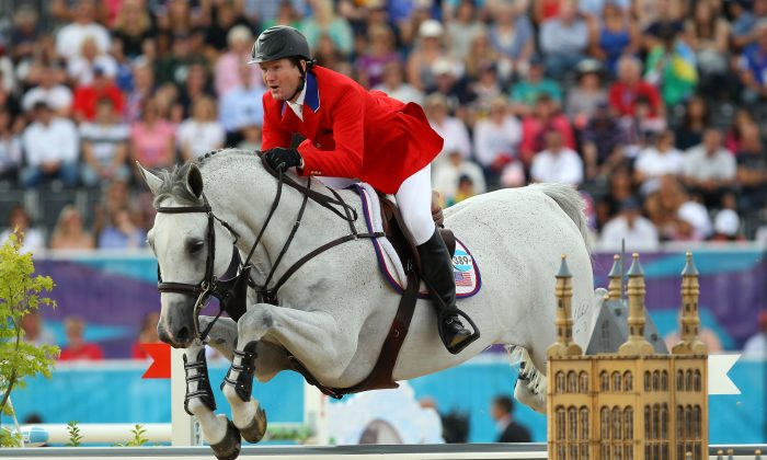 Two-time team-jumping gold medalist McLain Ward is among the roster of riders scheduled to appear in the inaugural Central Park Horse Show. (Alex Livesey/Getty Image Sports)