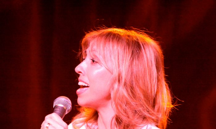 Amanda Green, one of the composers presented at an evening of women composers. (Courtesy of The New York Musical Theatre Festival (NYMF)