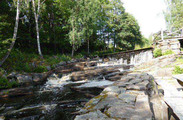 The fish ladder at Melltorp Sawmill at Hyssna in Sweden may not gat a new licence under proposed new EU legislation. (Barbro Plogander/Epoch Times)
