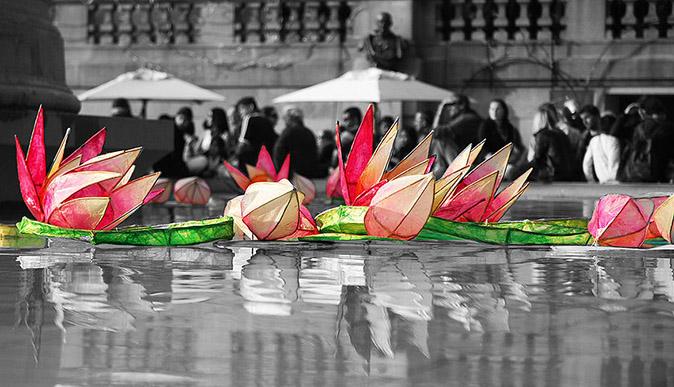 Diwali celebrations in the City of London.(everheardofaspacebar, CC BY)