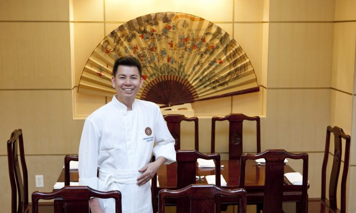 Executive chef Zizhao Luo, from Radiance. (Courtesy of Radiance)