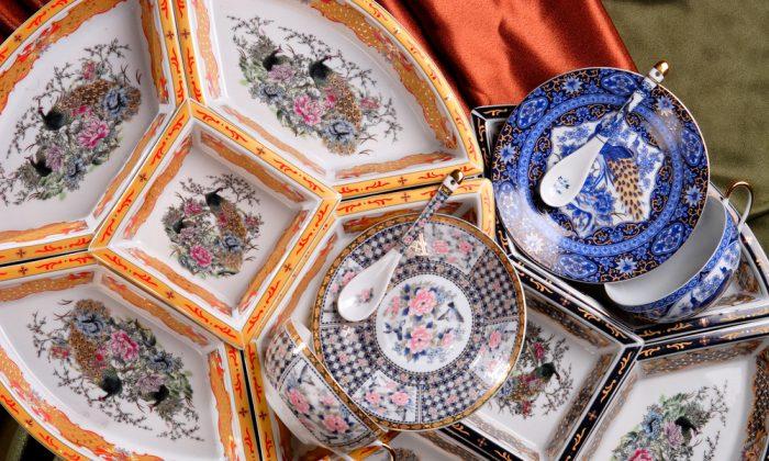 Beautiful porcelain tableware. (*Shutterstock)