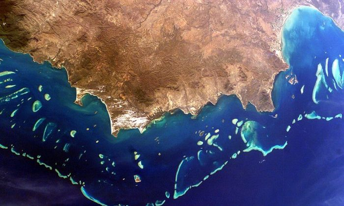 Great Barrier Reef, Australia. (eutrophication&hypoxia, CC BY)