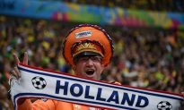 Watch Robin Van Persie Give Captain Armband to Dedicated Netherlands Fan (+Video, Photo)