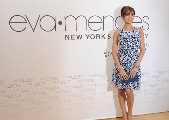 Eva Mendes and New York & Company launch the Eva Mendes for NY&C Spring 2014 collection with a pop-up shop at The Beverly Center on March 18, 2014 in Los Angeles, California. (Photo by Angela Weiss/Getty Images for New York & Company)