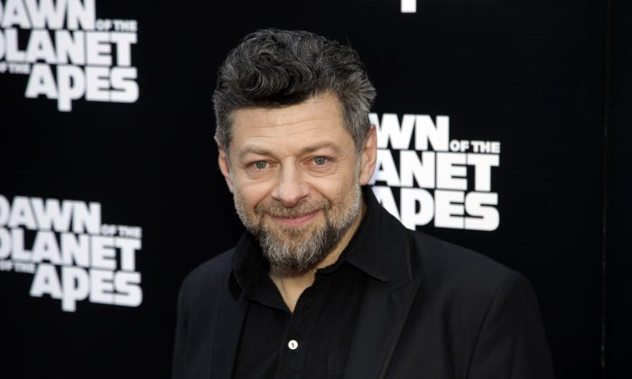 "Actor Andy Serkis attends a screening of ""Dawn of The Planet of The Apes"" on Tuesday, July 8, 2014, in New York. (Photo by Andy Kropa/Invision/AP)"