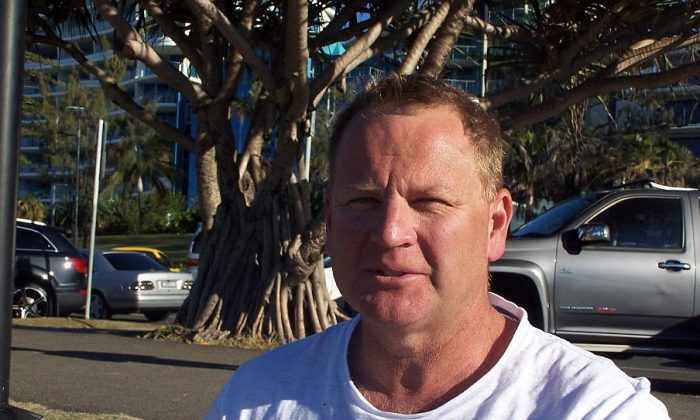 Melbourne, Australia: David Brough, 42, Unemployed Builder: It's a little bit hard, because when we look at the international stage, the Australian government, some of their activity hasn't been very palatable, such as the refugee issue. Whilst there's competing issues in relation to keeping our borders safe and preventing drownings at sea; we also need to ensure we do our bit as a country in relation to ensuing genuine refugees are supported, looked after, and resettled appropriately. The good thing is that we are active on the world stage in relation to national disasters, and we do jump in and give a hand when we can, and I think that's fantastic. But certainly the hot topic being the refugee issue, I think we could do a bit better.