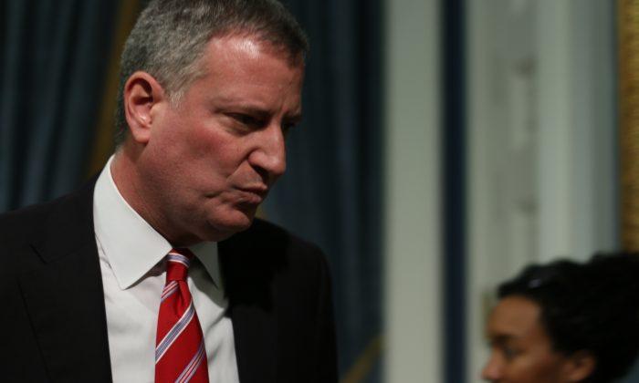 New York City Mayor Bill de Blasio (Allen Xie)