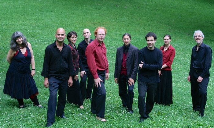 Members of Ensemble Caprice. Artistic director Matthias Maute is on the right. (Courtesy of Ensemble Caprice)