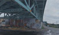 Cityscape Painters Explore Bridges as Metaphors for NYC