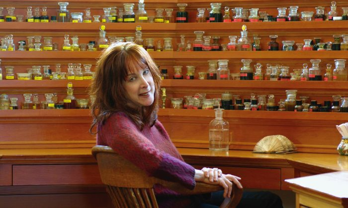Natural perfume artisan and author Mandy Aftel. (Courtesy of www.aftelier.com)