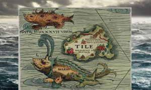 The Evolution of Sea Monsters on Medieval Maps