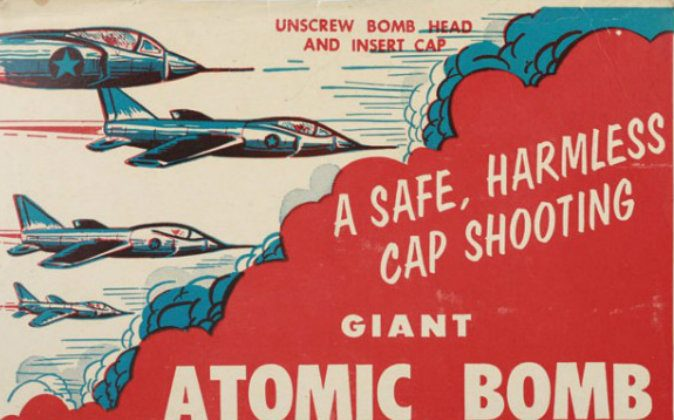 Anything but safe and harmless, nuclear weapons have the potential to produce incomprehensible destruction. (Photo: Royal Toy Manufacturing Co./Wikimedia)