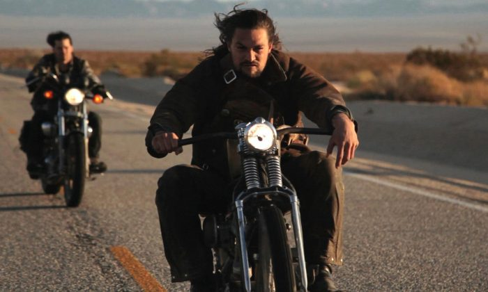 "Jason Momoa is Wolf in ""Road to Paloma."" (Anchor Bay Films)"