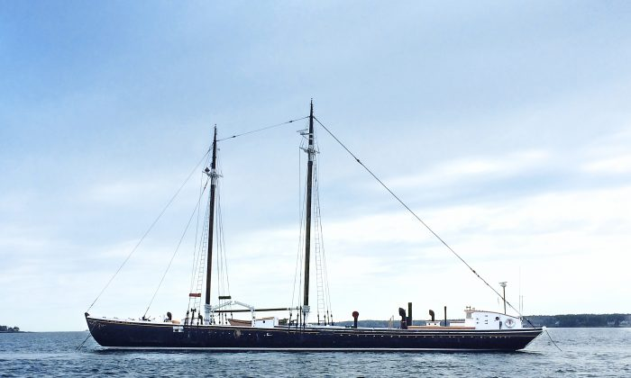 Grand Banks is housed on the historic Sherman Zwicker. (Courtesy of Grand Banks)