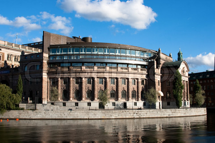 Swedish Parliament building. (www.colourbox.com)