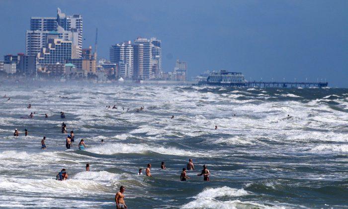 A stock photo of a beach (The Daytona Beach News-Journal, Jim Tiller/AP Photo)