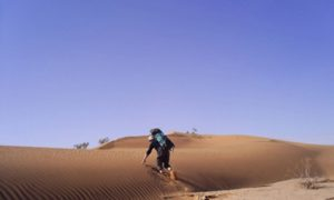'The Poor Man's North Pole': Camping in the Sahara Desert