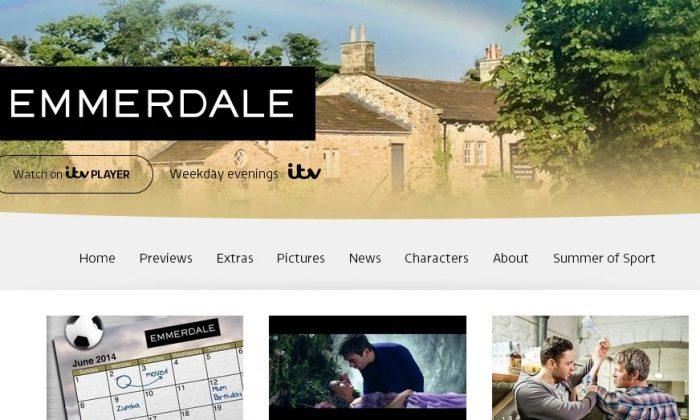 (Screenshot/ITV's Emmerdale site)