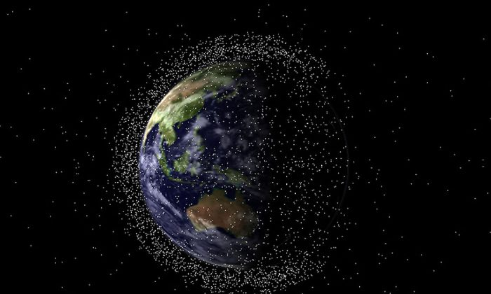 Plenty of space junk out there. (EOS Space Systems)