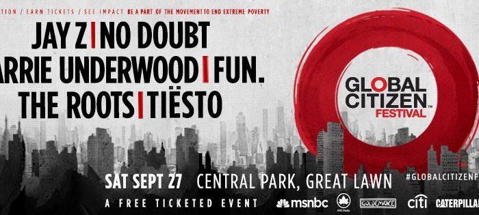 Global Citizen Announces its Lineup for its Festival at Central Park. Photo Credit: Global Citizen