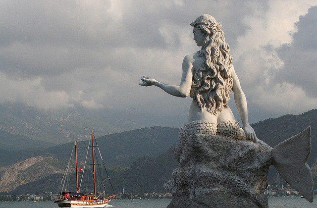 Mermaid Statue, Turkey (Creative Commons)