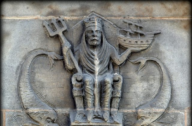 Neptune Carving, (Creative Commons)