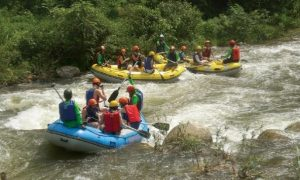 River Adventure by Whitewater Rafting