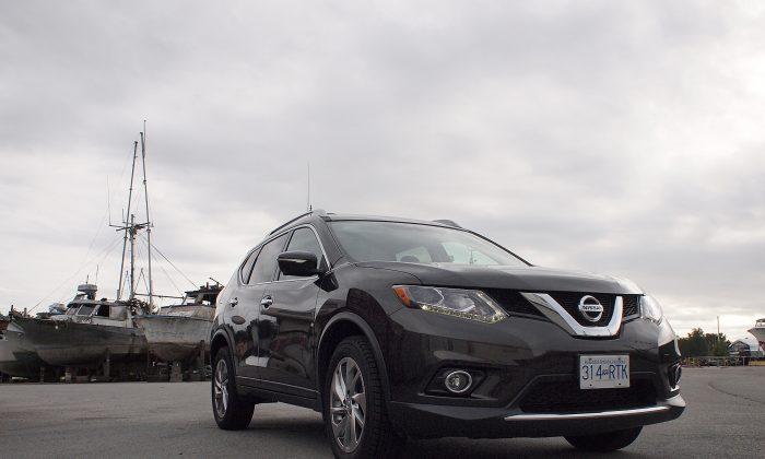 2014 Nissan Rogue (Photo by Benjamin Yong)