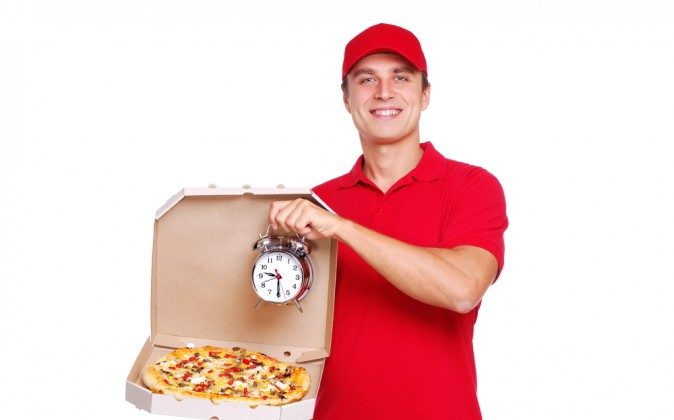 Pizza delivery (Shutterstock*)