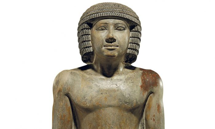 The statue of Sekhemka. (Christie's)