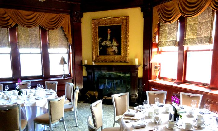 Equus restaurant, at the Castle Hotel & Spa, in Tarrytown. (Courtesy of Manos Angelakis)